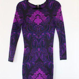 Felicity & Coco Jacquard Knit Body-Con Dress